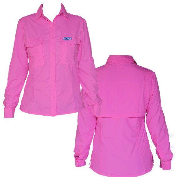 Camisa de Pesca Veefs Rosa