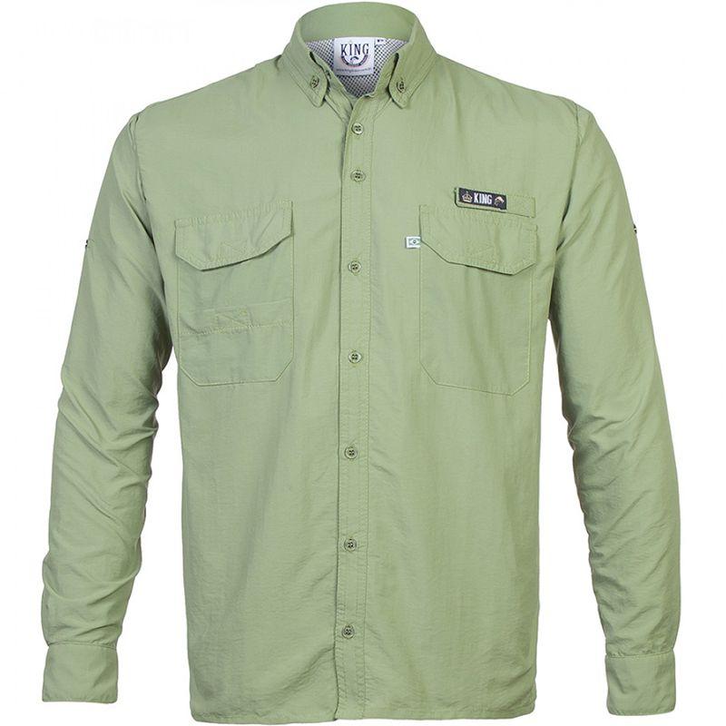 Camisa de Pesca King Antares (Verde)