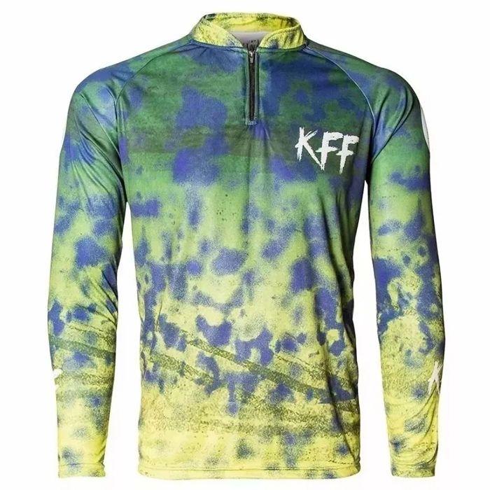 Camiseta de Pesca King KFF31 Camuflado (Com Proteção Solar 50+)