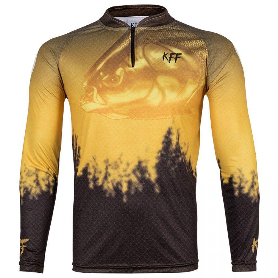Camiseta de Pesca King KFF59 Tambaqui (Com Proteção Solar 50+)
