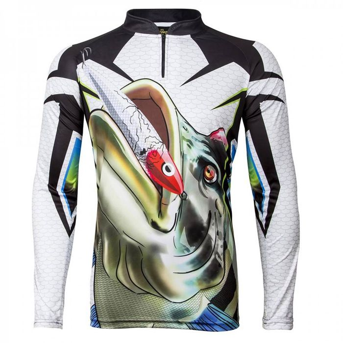 Camiseta de Pesca King VK01 Tucunaré (Com Proteção Solar 50+)
