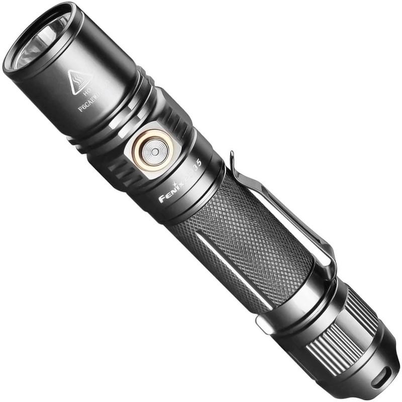 Lanterna Tática Fenix PD35 V2.0 (1000 lumens, com bateria USB)