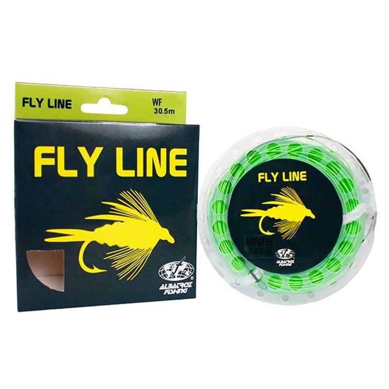Linha de Fly Albatroz Fly Line WF 8FS (Verde)