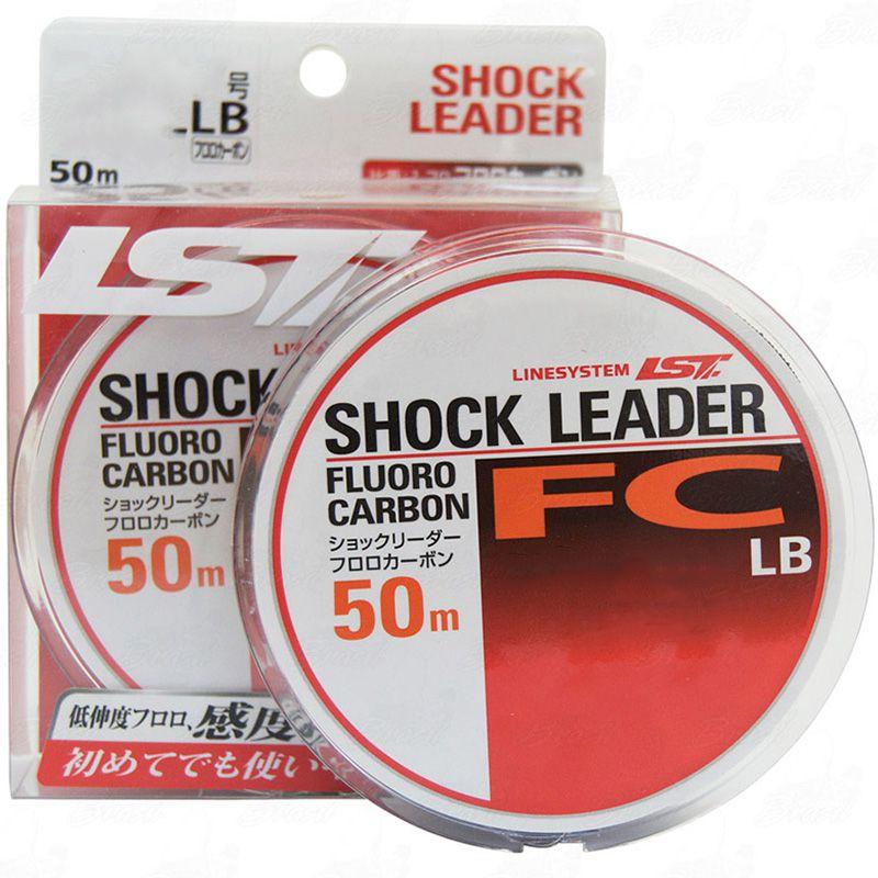 Linha Fluorocarbon Linesystem LST FC 40lb (0,58mm - 50m)