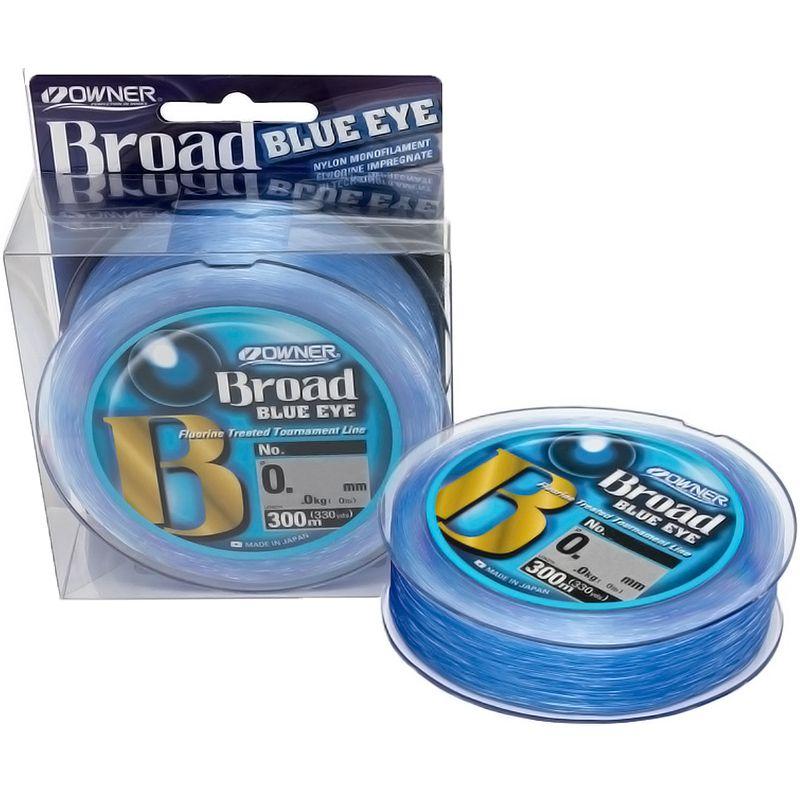 Linha Monofilamento Owner Broad Blue Eye 03lb (0,12mm - 300m)