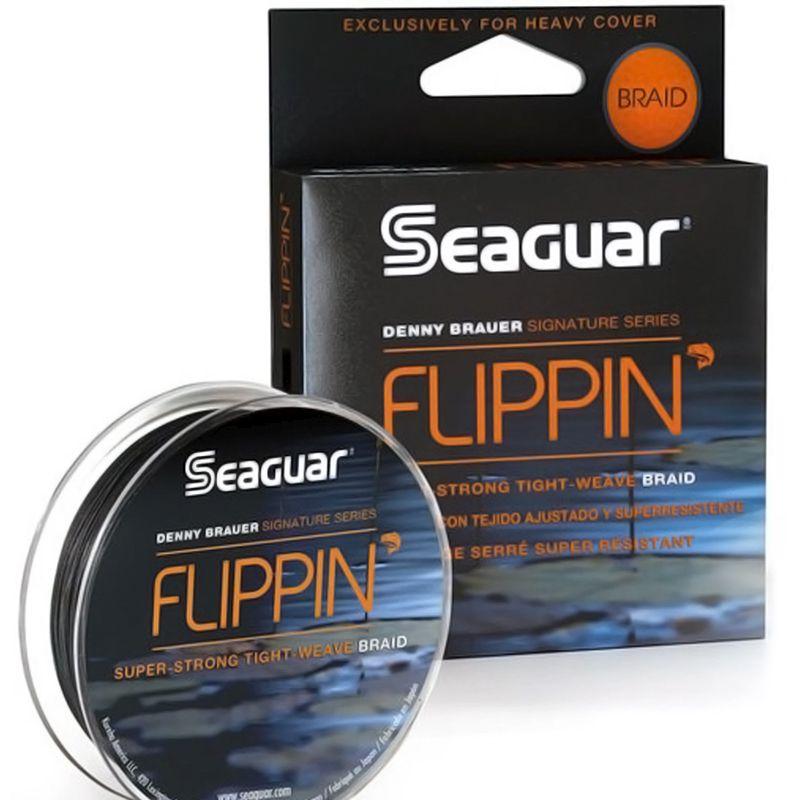 Linha Multifilamento Seaguar Flippin 65lb (0,40mm - 91m)