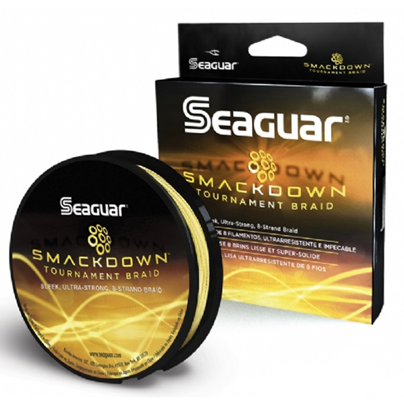 Linha Multifilamento Seguar Smackdown Yellow  (137m)