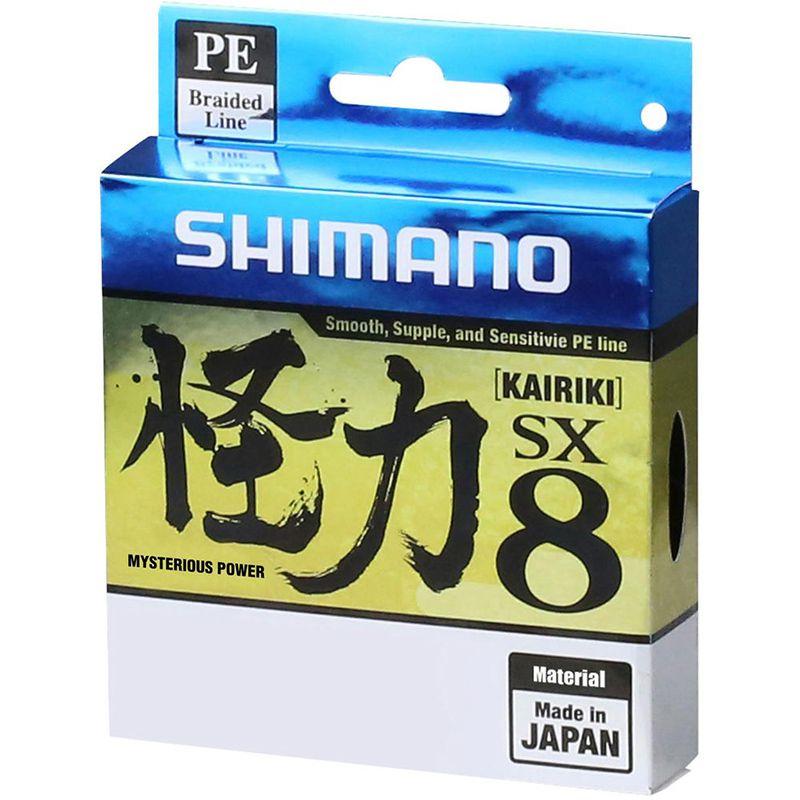 Linha Multifilamento Shimano Kairiki SX8 50lb Green (0,33mm - 150m)