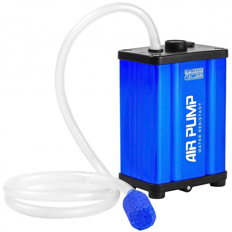 Oxigenador Aerador Marine Sports Super Air Pump MS-AR05 Aluminio (12V ou 2 pilhas AA)