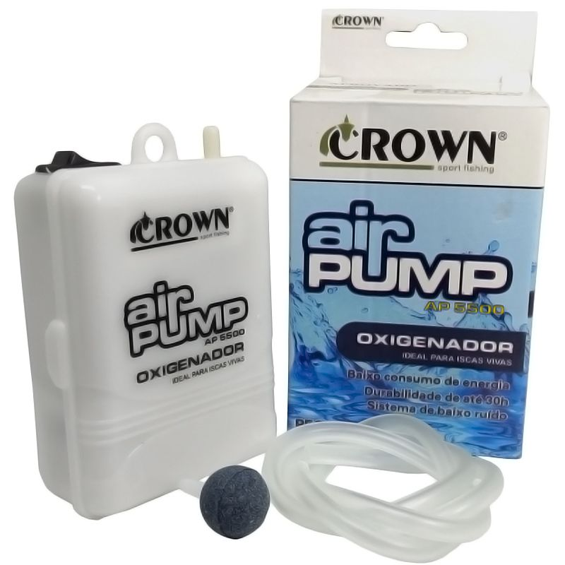 Oxigenador Crown AP 5500 1D (1 Pilha D)