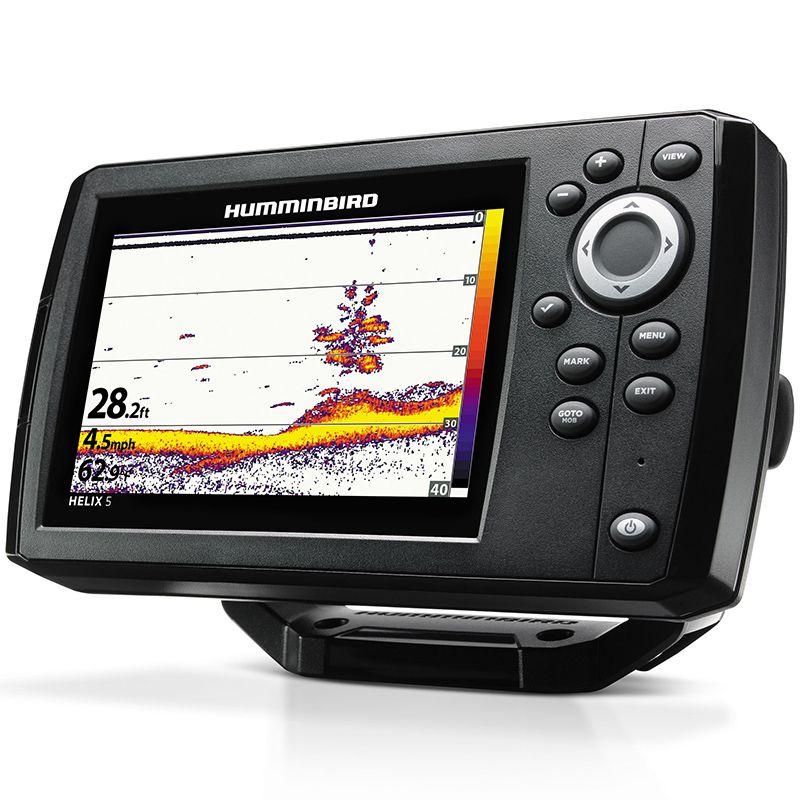 Sonar Humminbird Helix 5 Chirp G2 Di com GPS (Tela 5