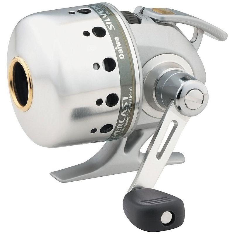 Spincast Daiwa Silvercast 100A (3 Rol., Cap de linha 0.28mm-90m, Rec. 4.3:1)