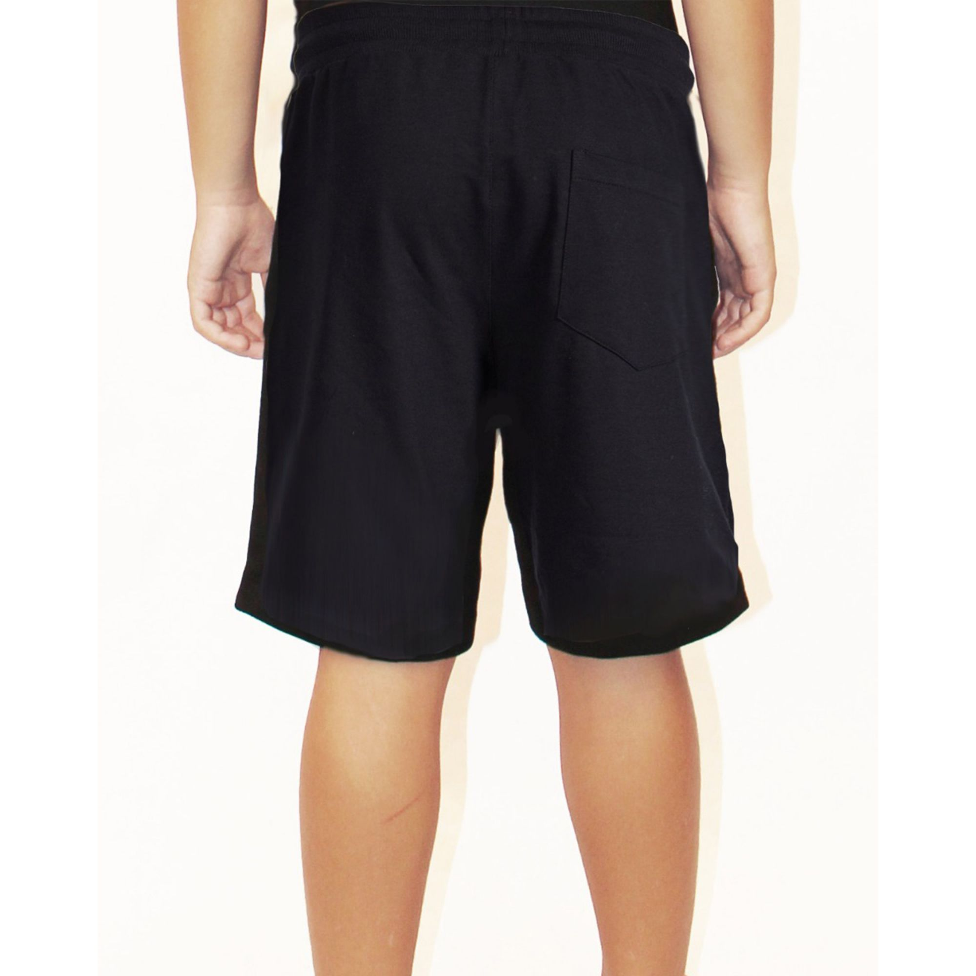 Bermuda Buh Kids Bordado Black