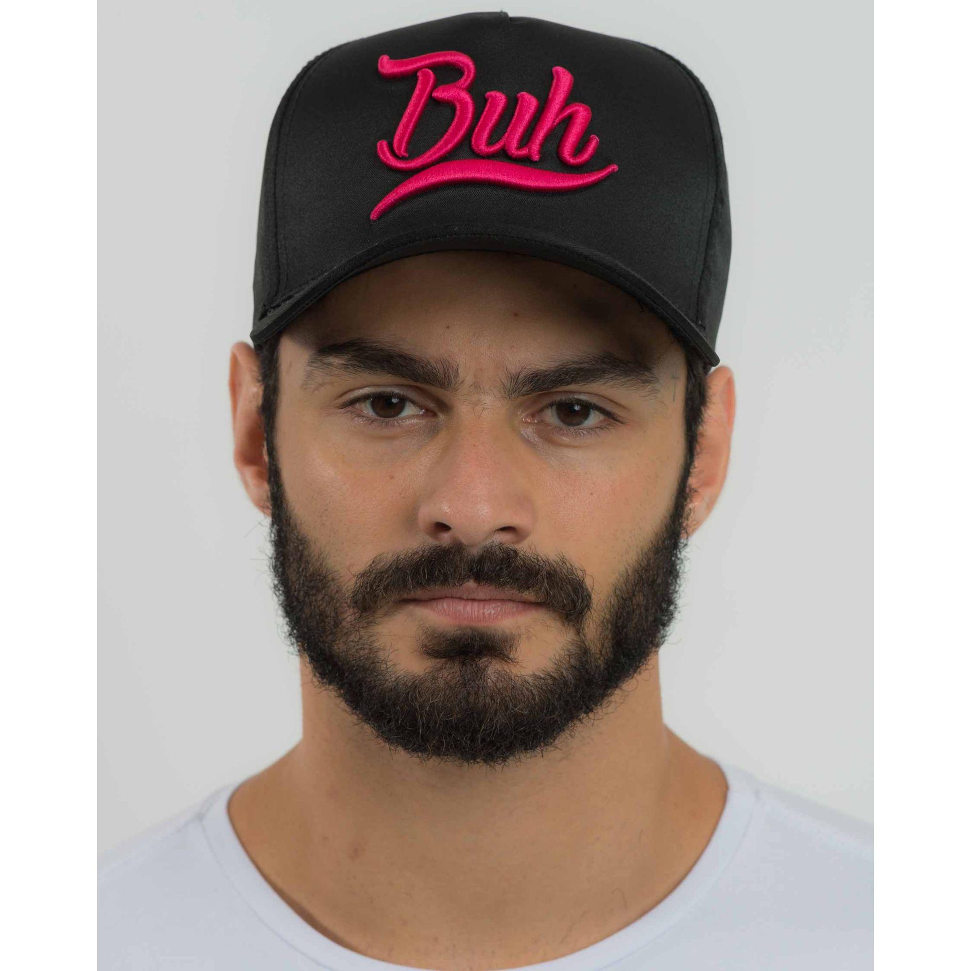 Boné Buh Classic Black Pink