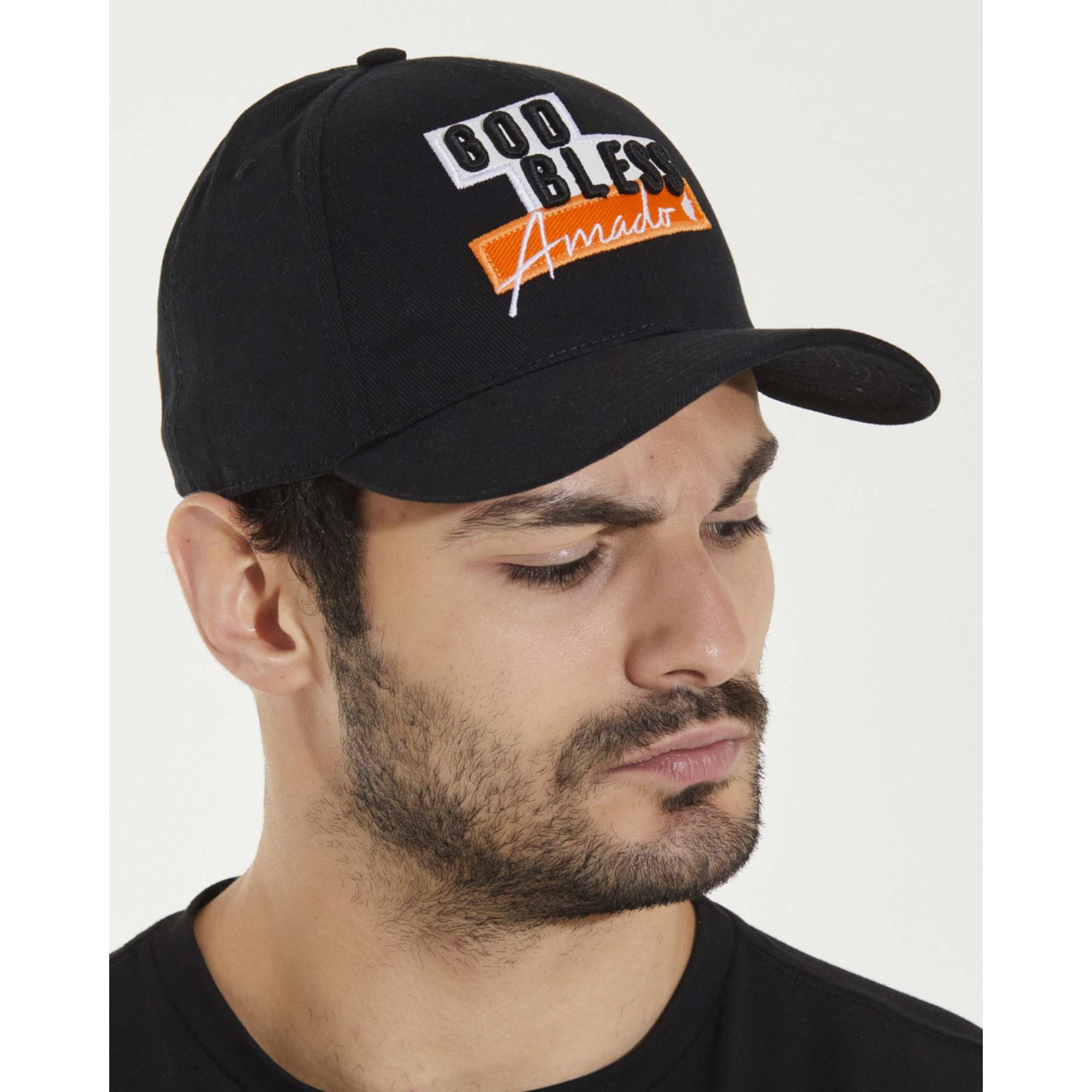 Boné Buh Dad Hat Amado Black