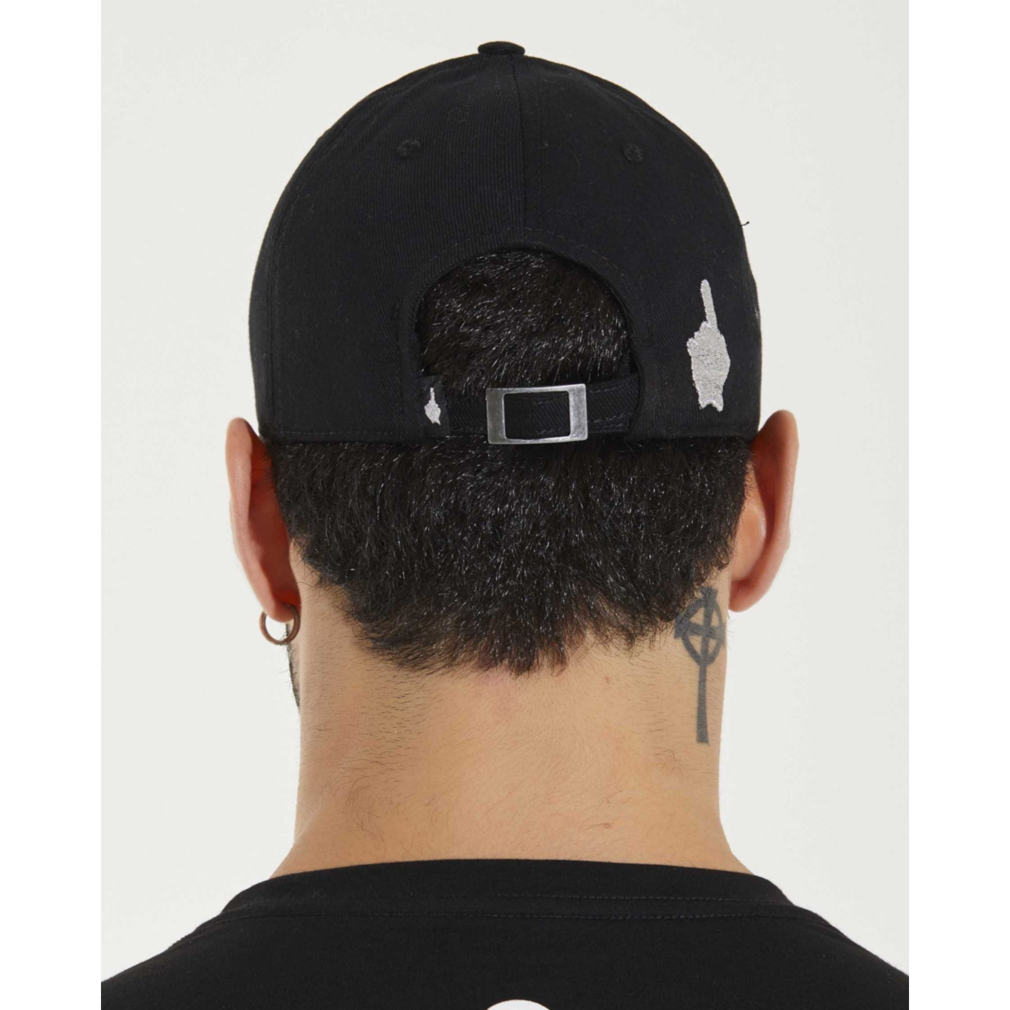 Boné Buh Dad Hat Cursivo Black