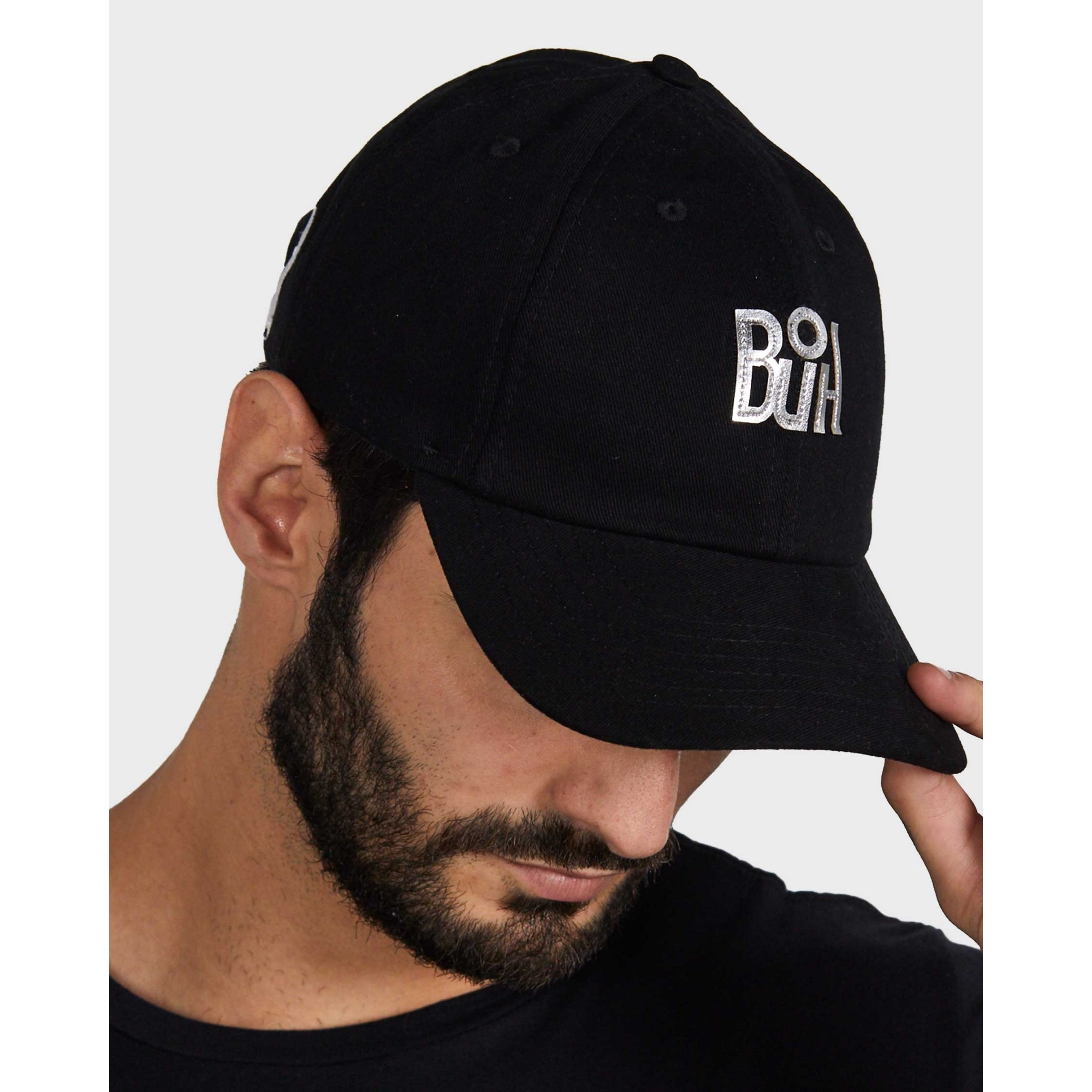 Boné Buh Dad Hat Metal Black