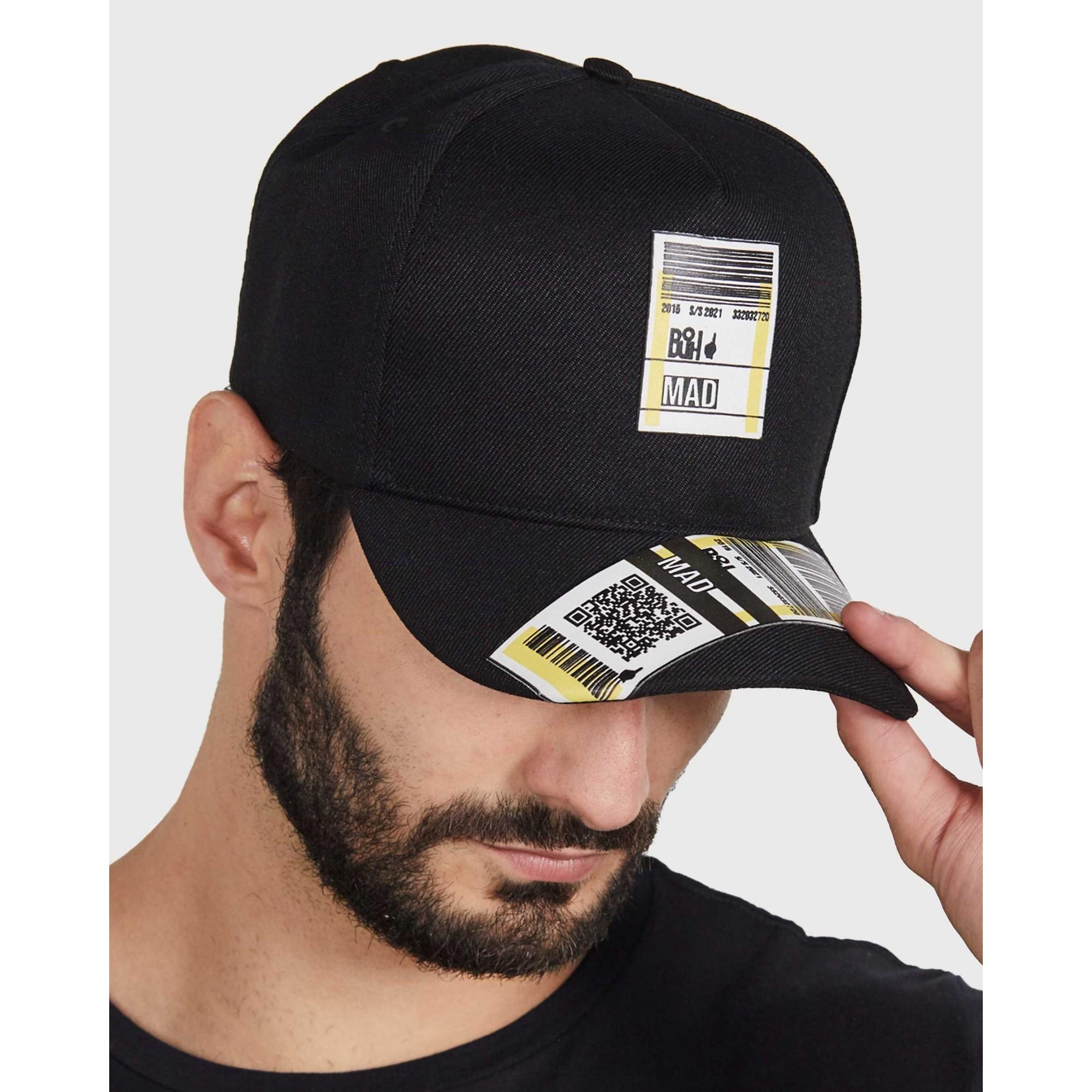Boné Buh Etiqueta Black