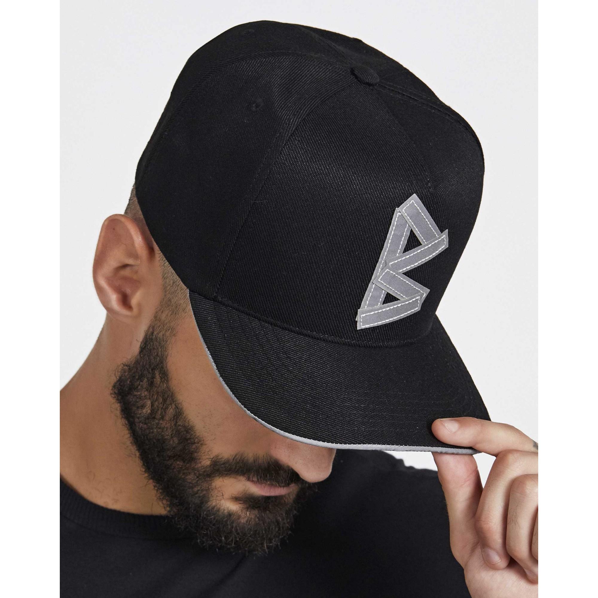Boné Buh Fita Refletiva Black