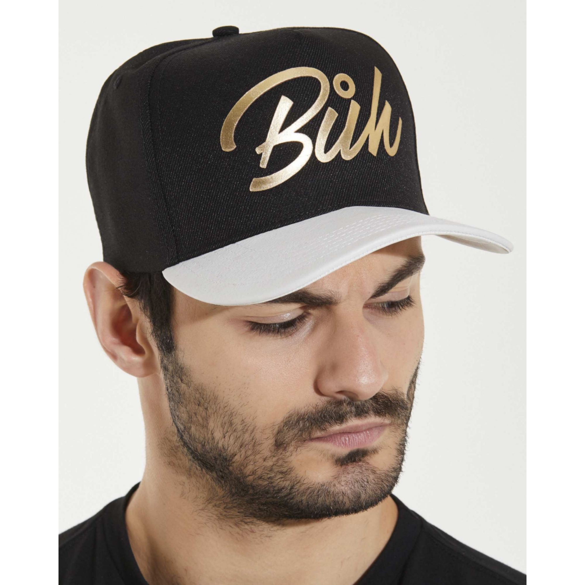 Boné Buh Foil Black & Gold