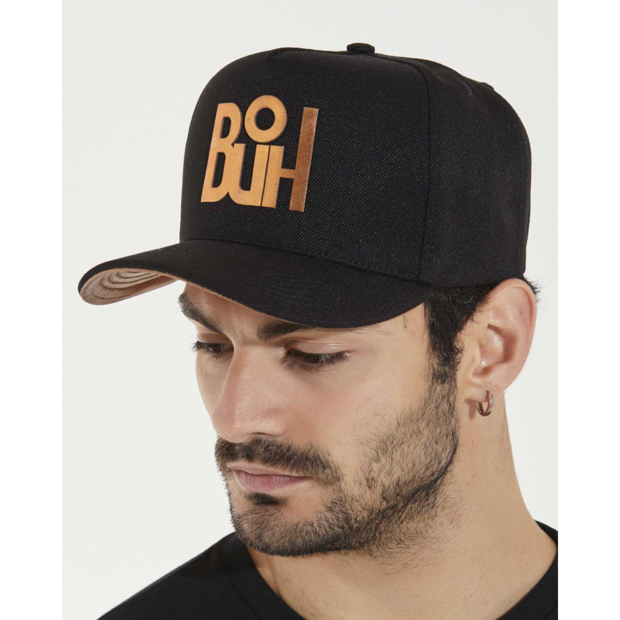 Boné Buh Foil Cobre Black