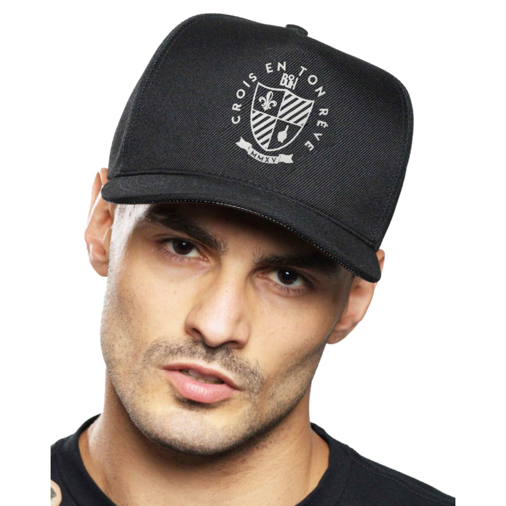 Boné Buh Fut Sertão Black