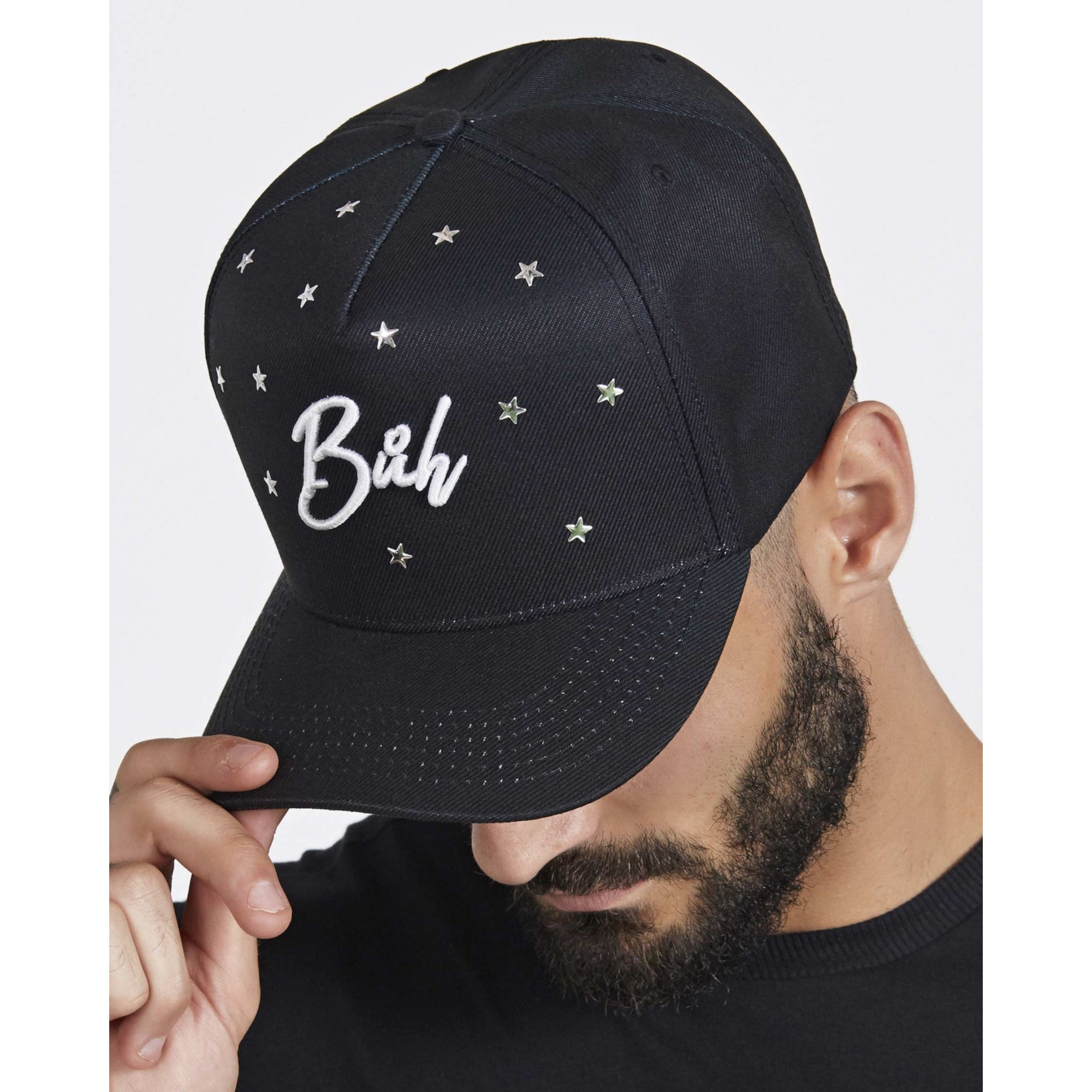 Boné Buh HotFlix Estrelas Black