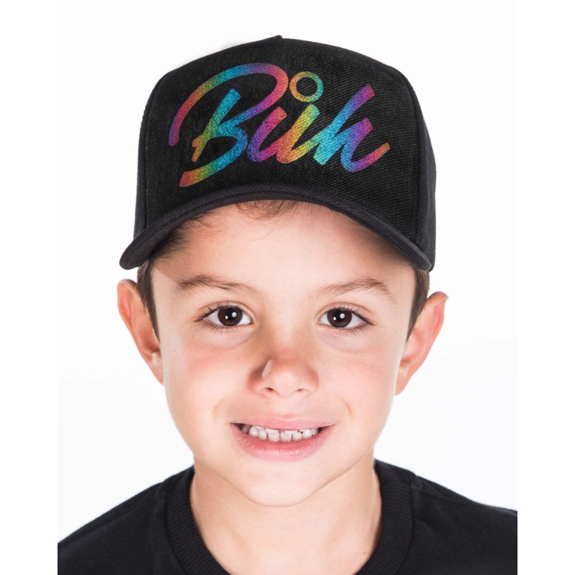 Boné Buh Kids Foil Colors Black