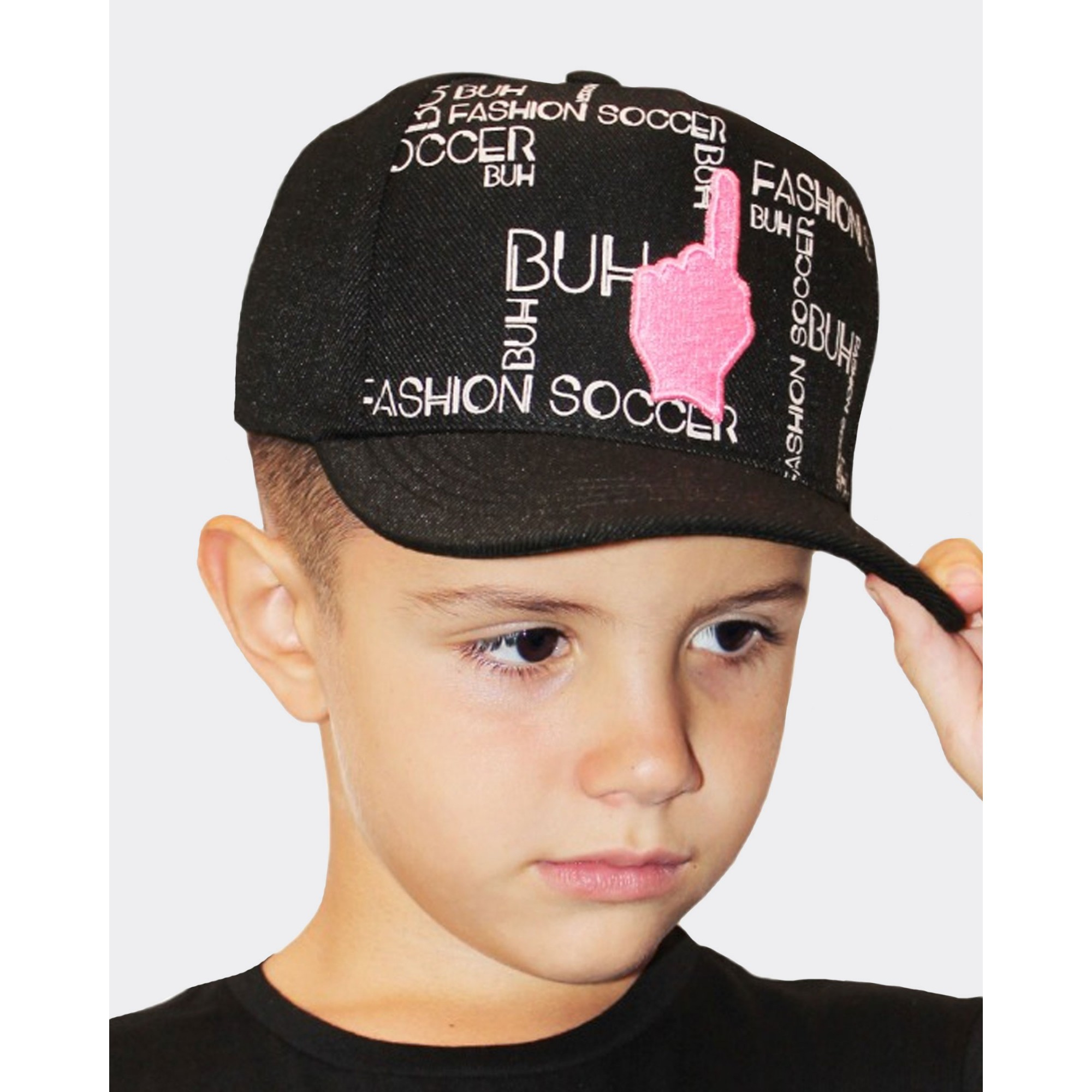 Boné Buh Kids Maps Black