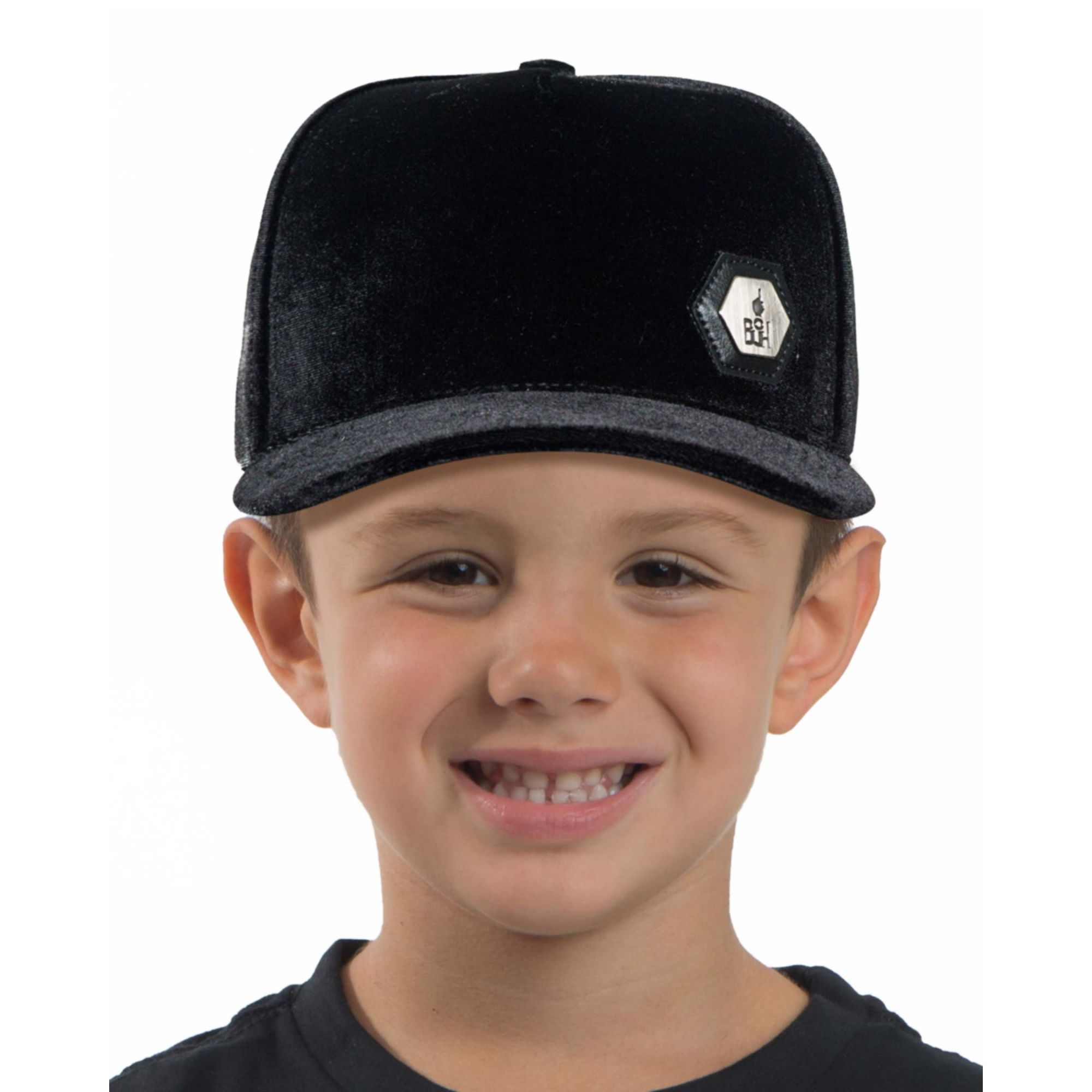Boné Buh Kids Plush Black
