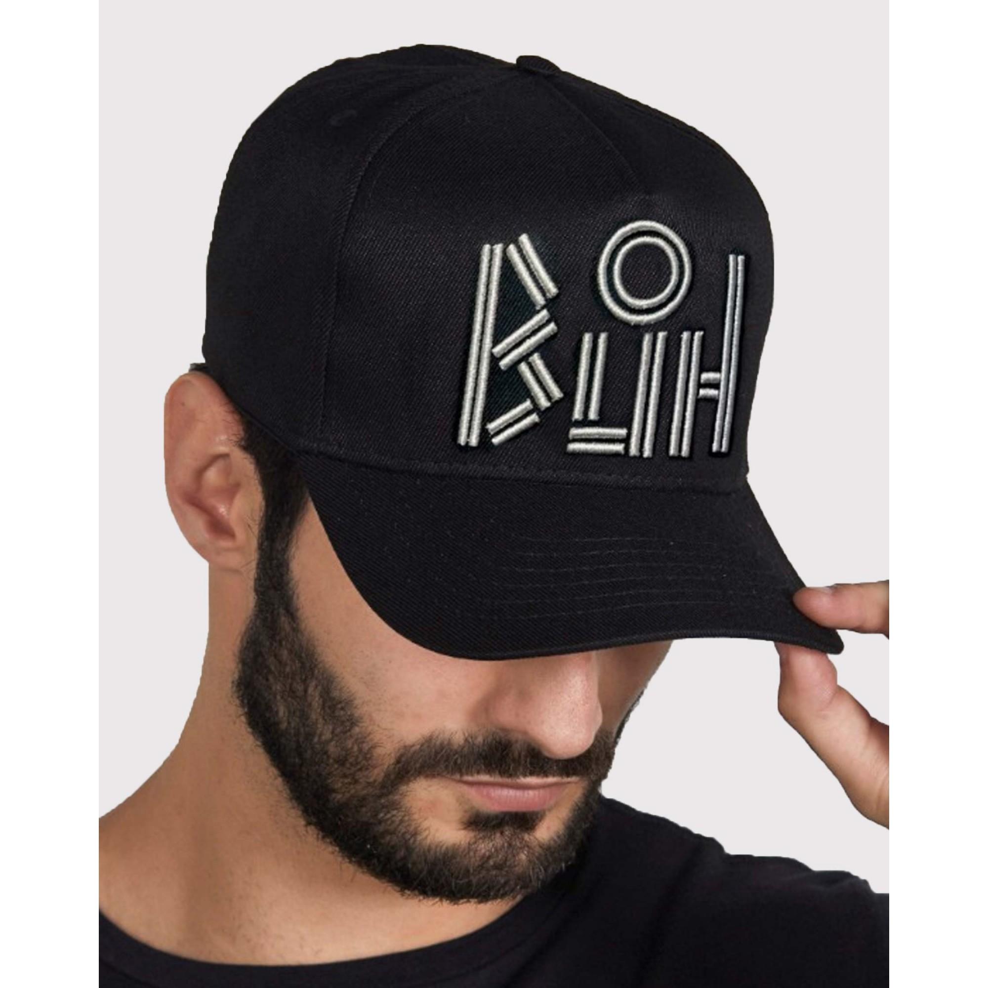 Boné Buh Logo Lines Black