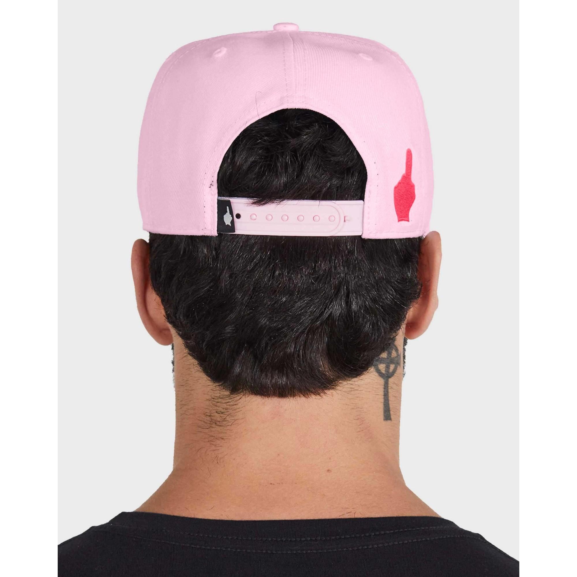 Boné Buh Logo Lines Pink