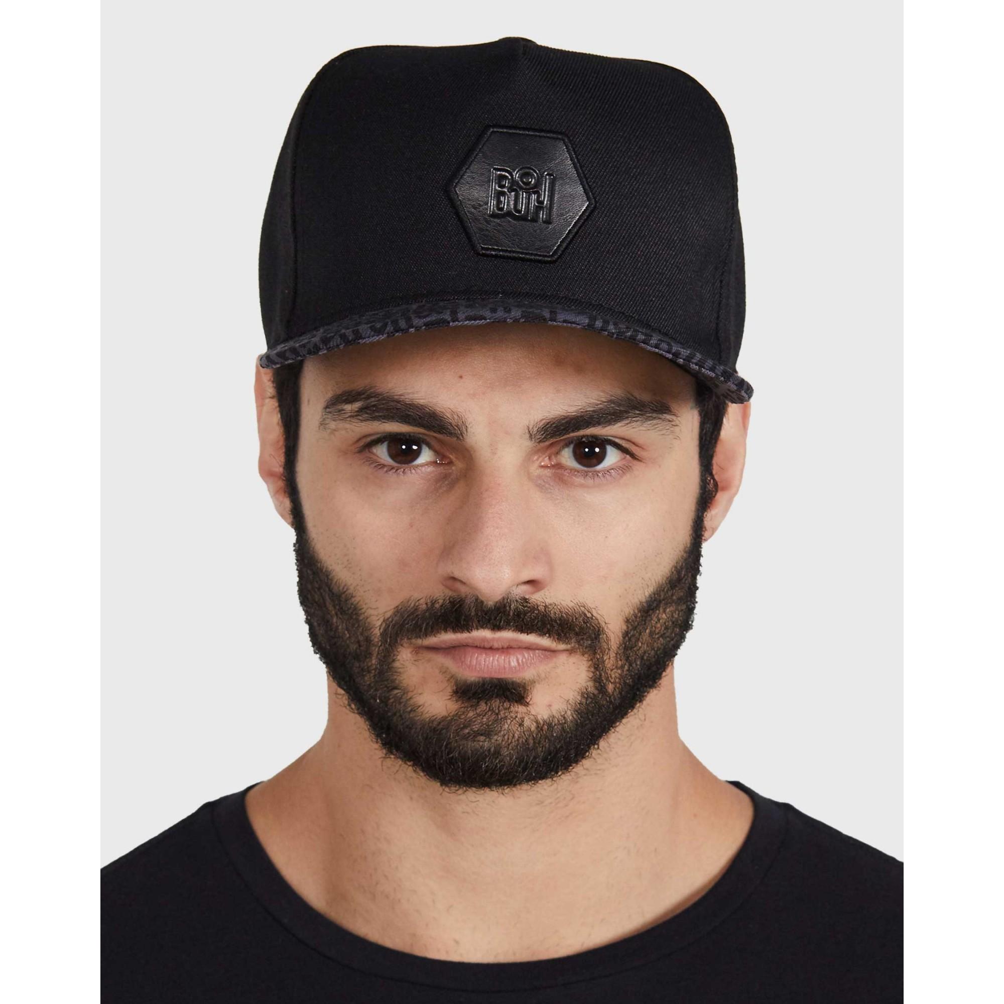 Boné Buh Logos Black