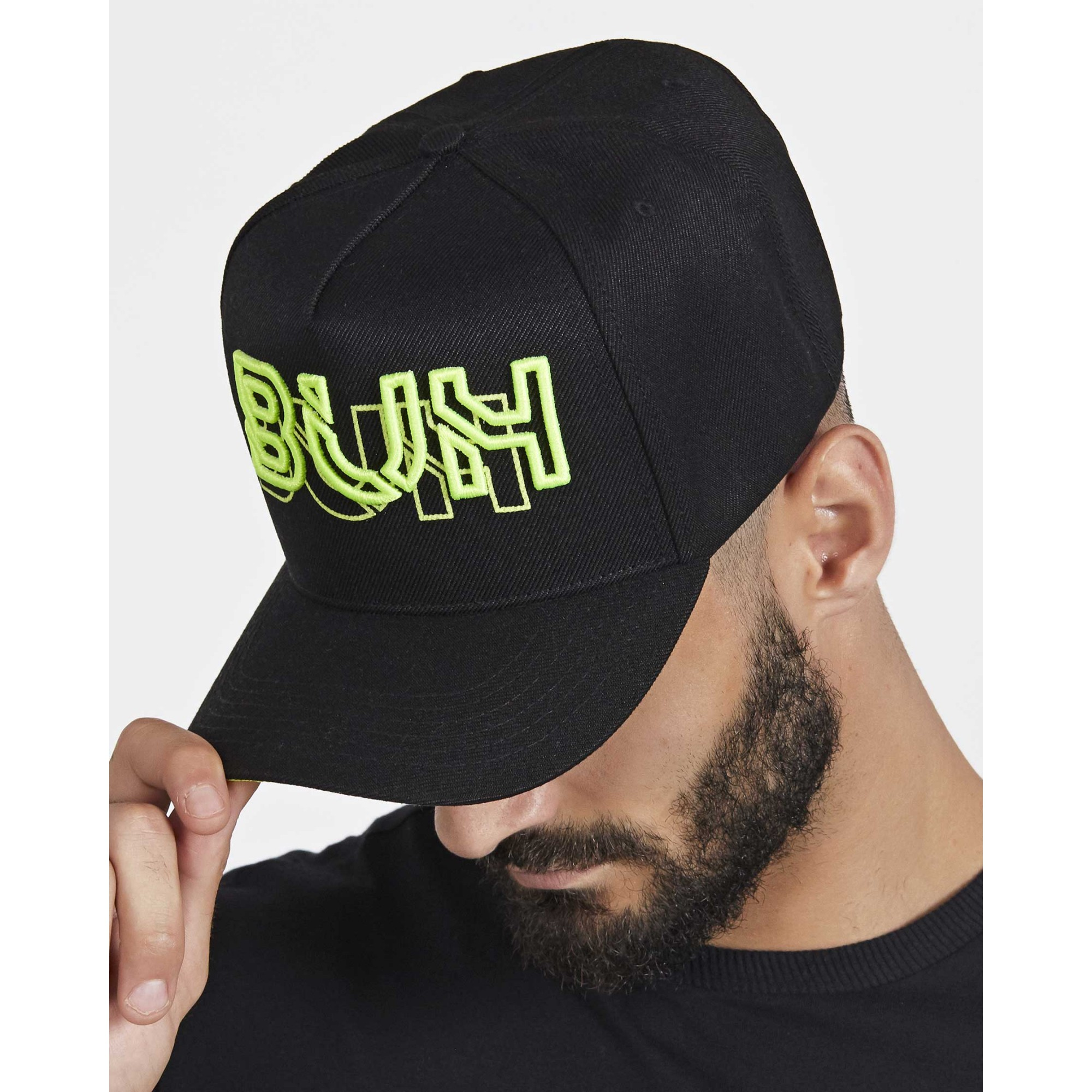 Boné Buh Neon Black & Green