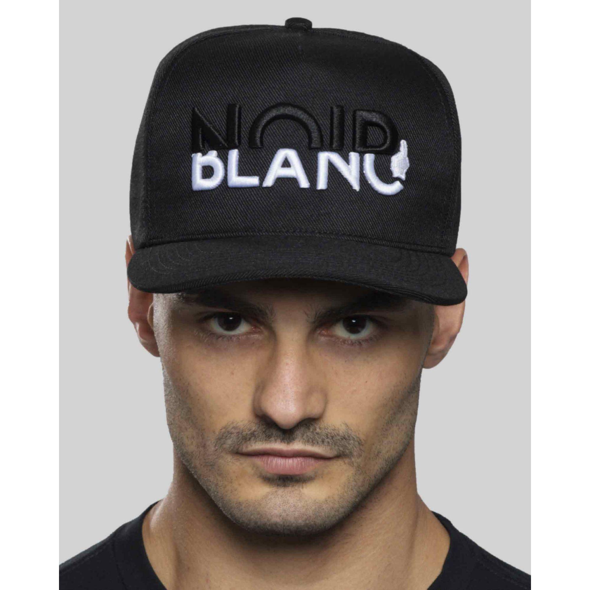 Boné Buh Noir Blanc