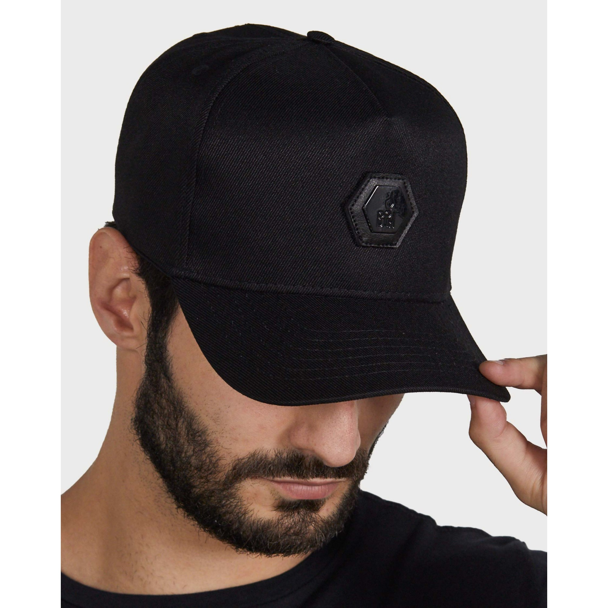 Boné Buh Placa Black