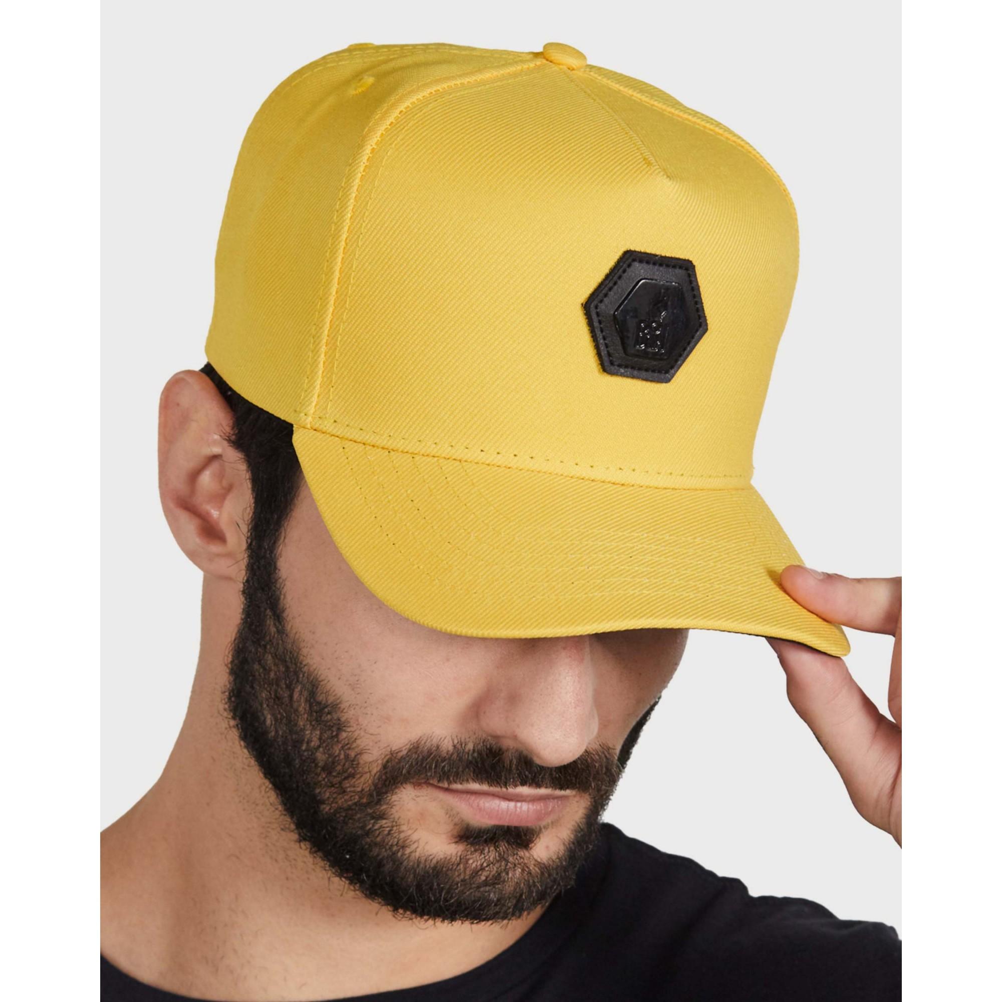 Boné Buh Placa Yellow