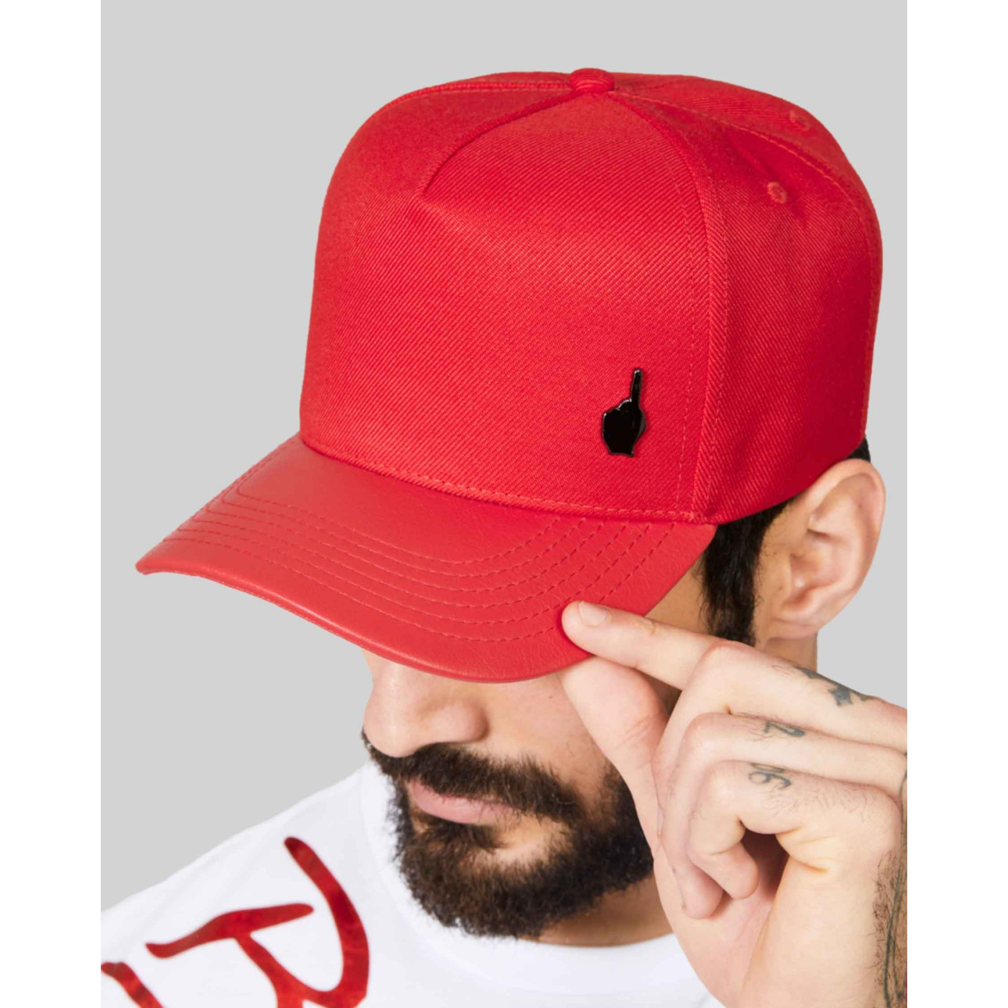 Boné Buh Rebite Logo Red