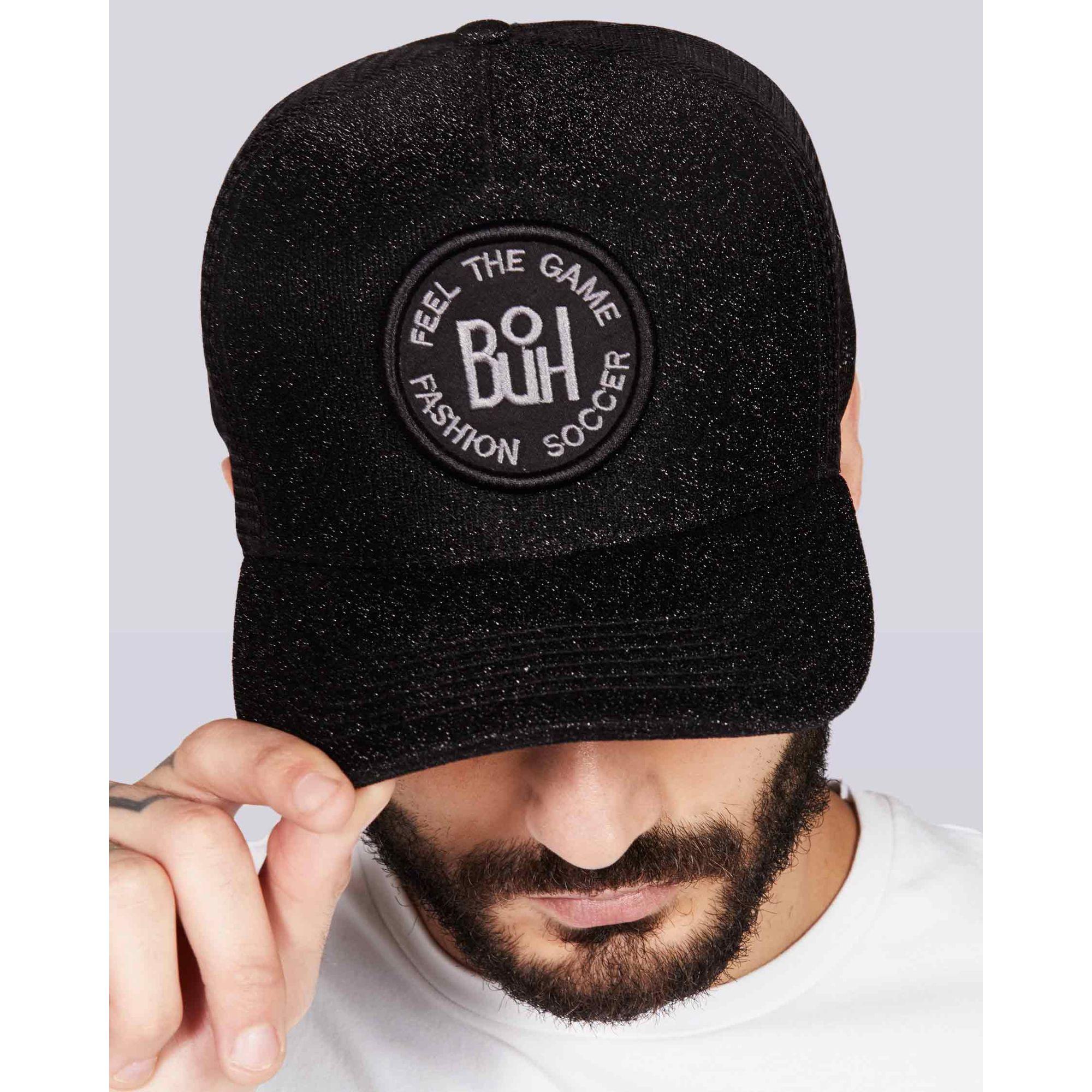 Boné Buh Shine Logo Black