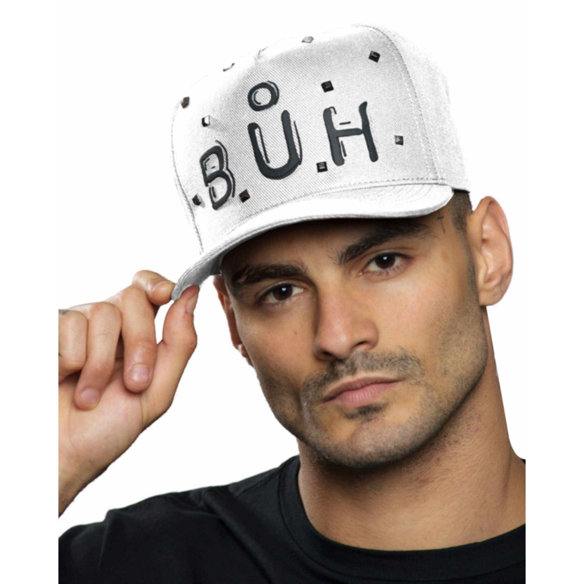 Boné Buh Tachas White
