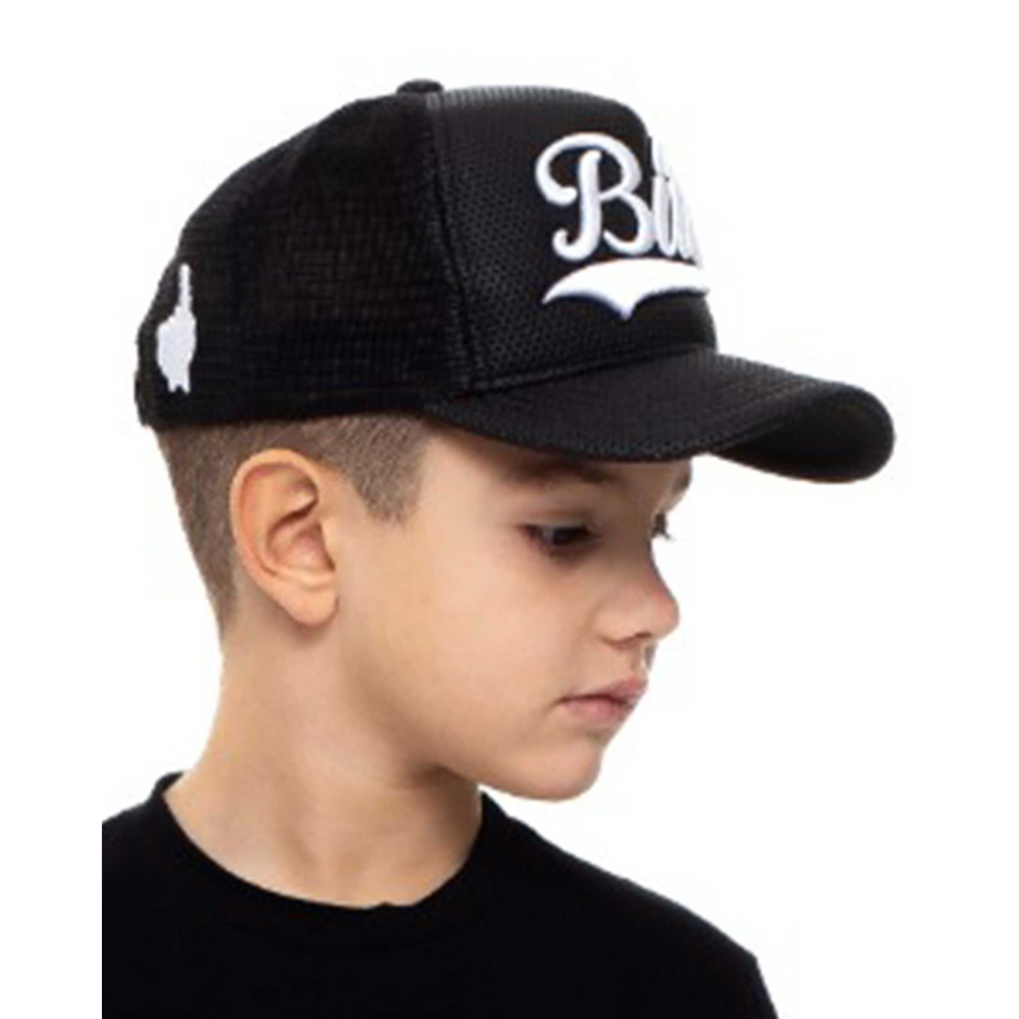 Boné Buh TBT Kids Trucker Black