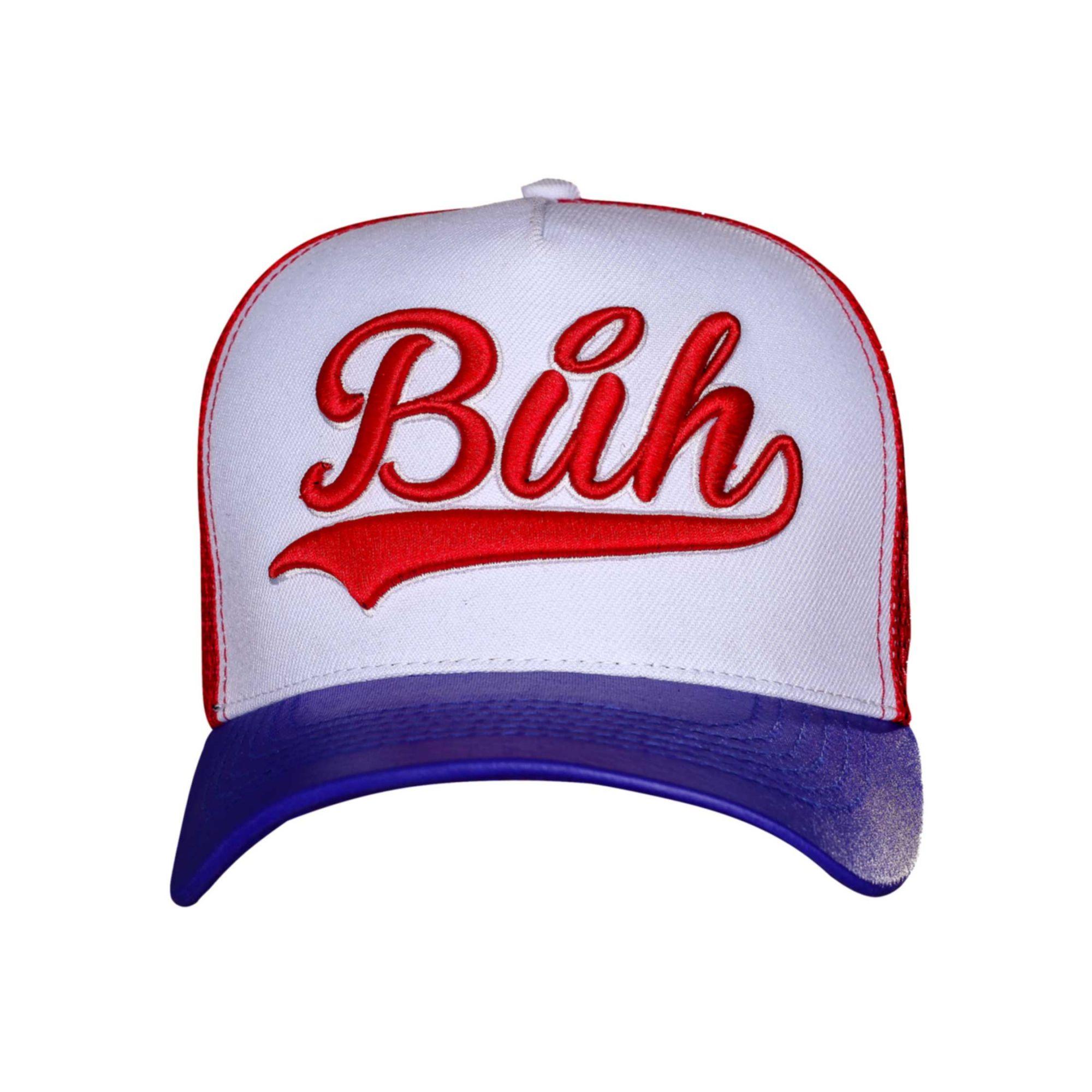 Boné Buh TBT Trucker Red & Blue