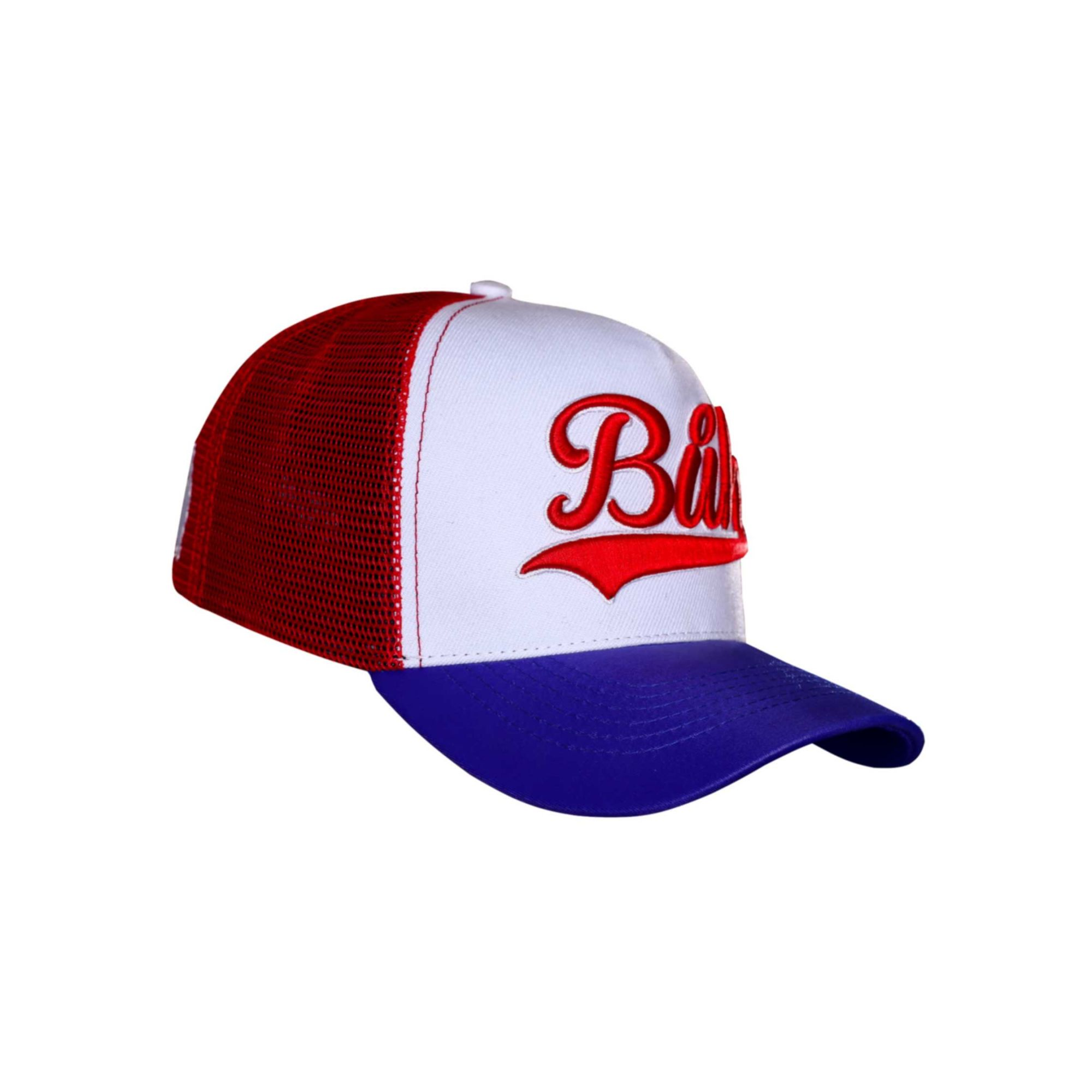 Boné Buh TBT Trucker Red & Blue
