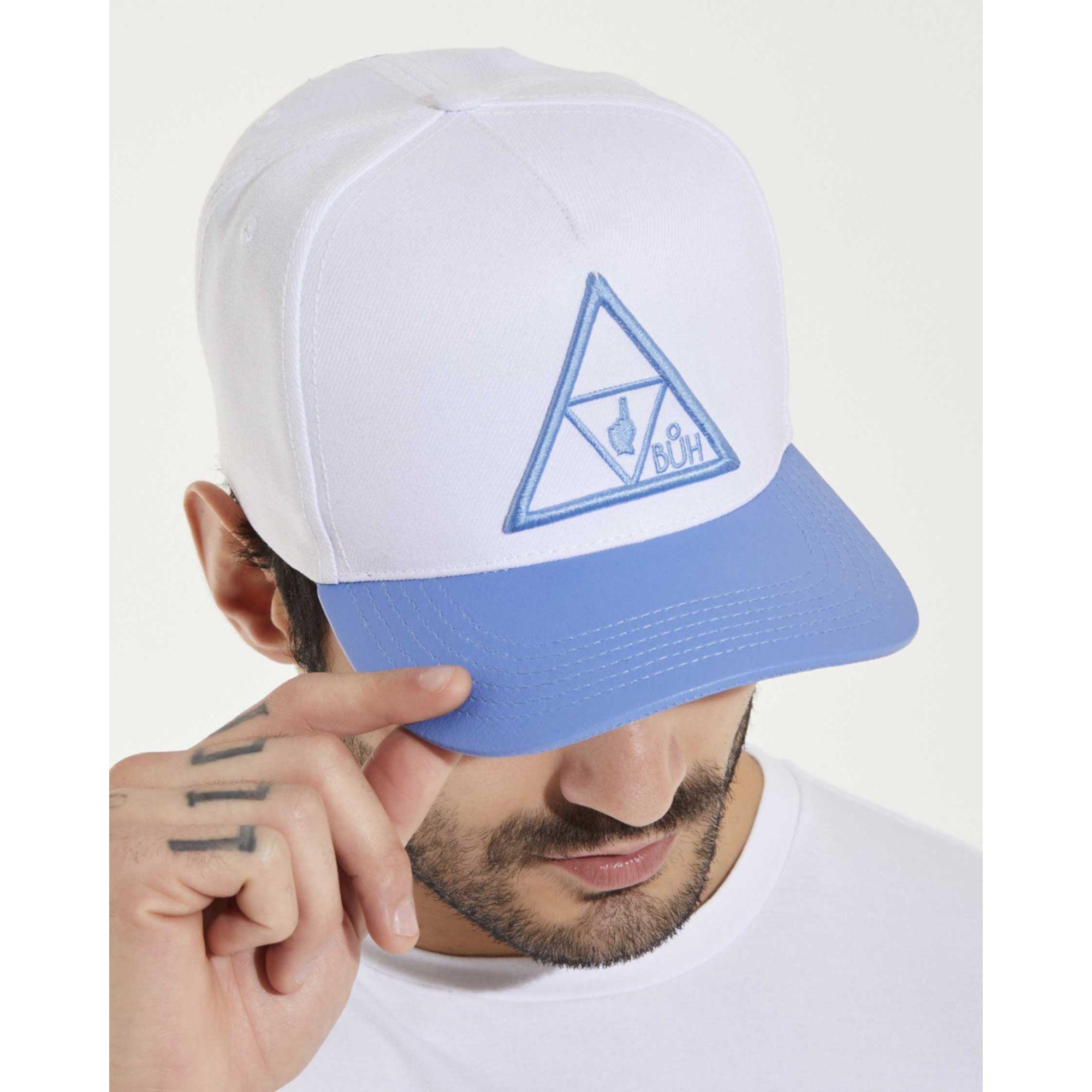 Boné Buh Triângulos White & Blue