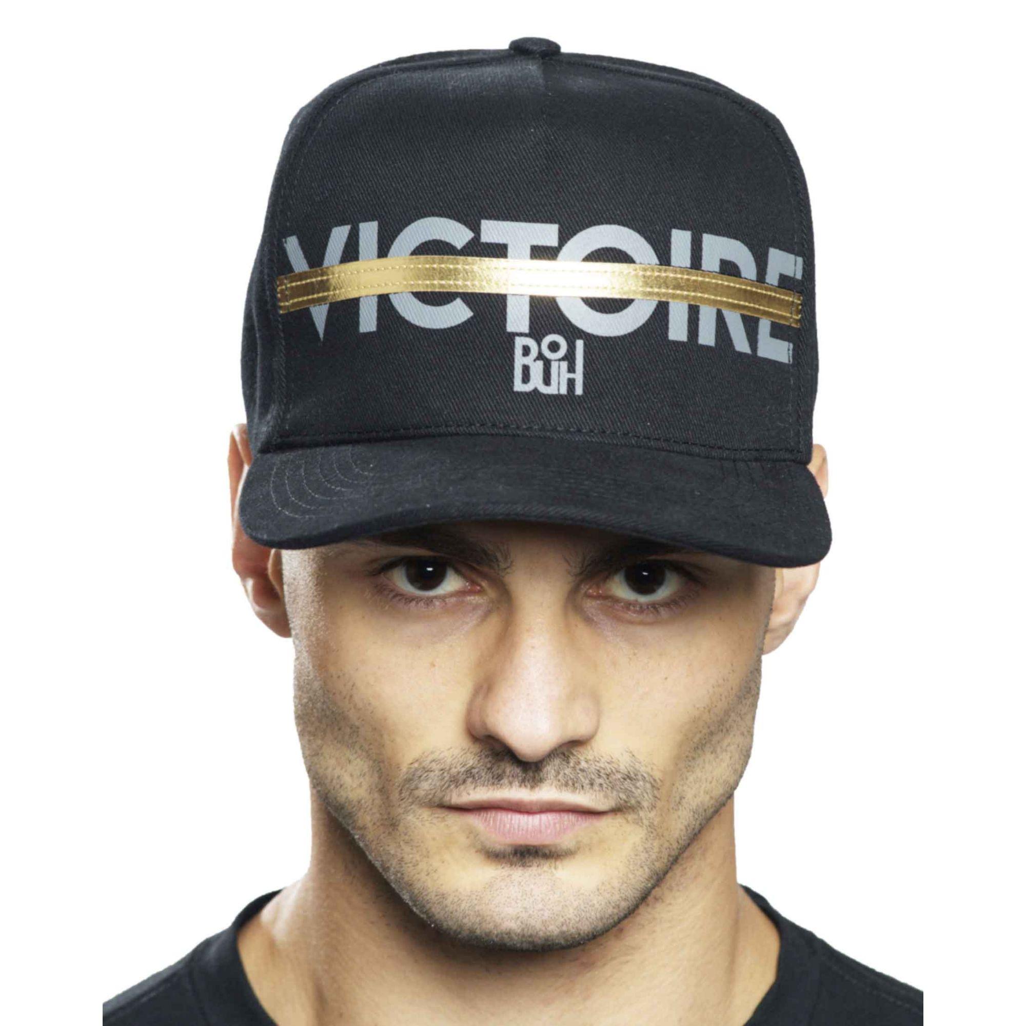 Boné Buh Victoire Black & Gold