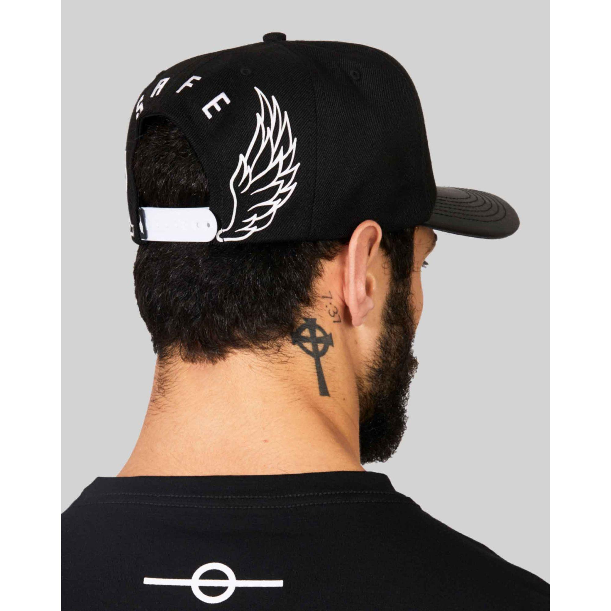 Boné Buh Wings Black