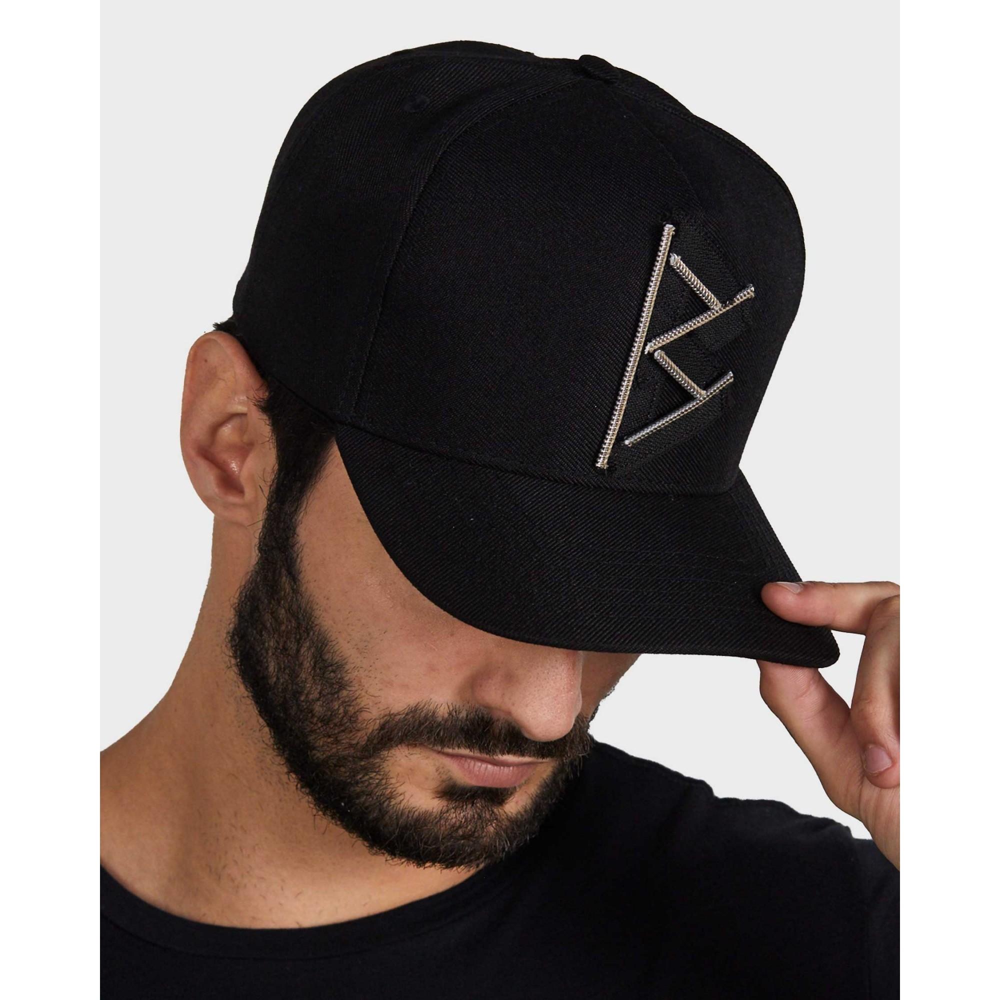 Boné Buh Zíper Black