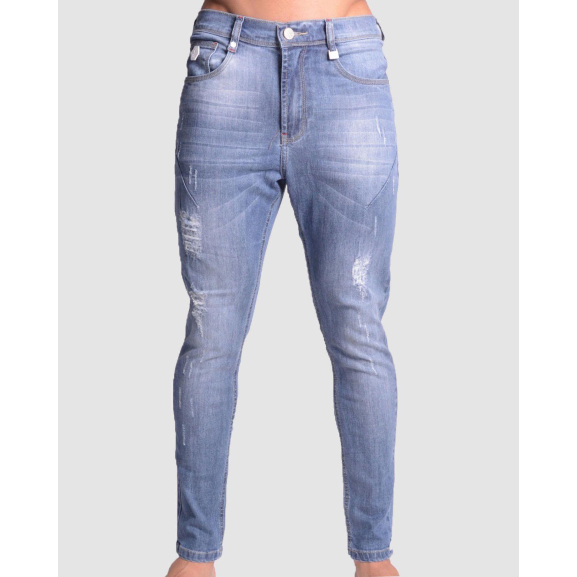 Calça Buh Jeans Azul Lavado