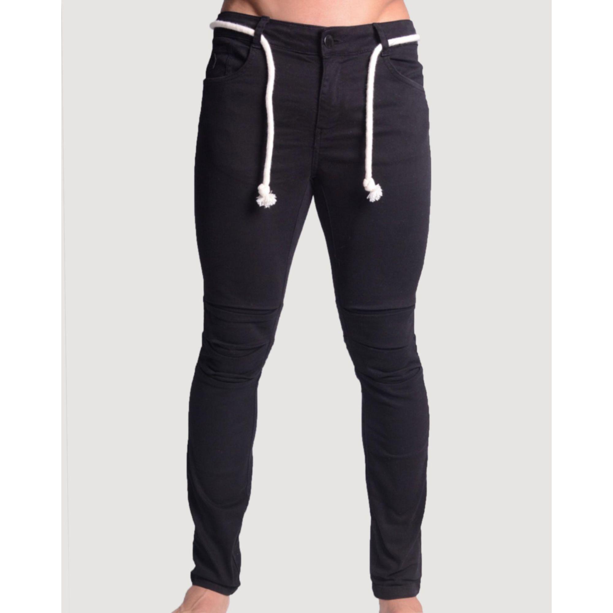 Calça Buh Jeans Cordão Black