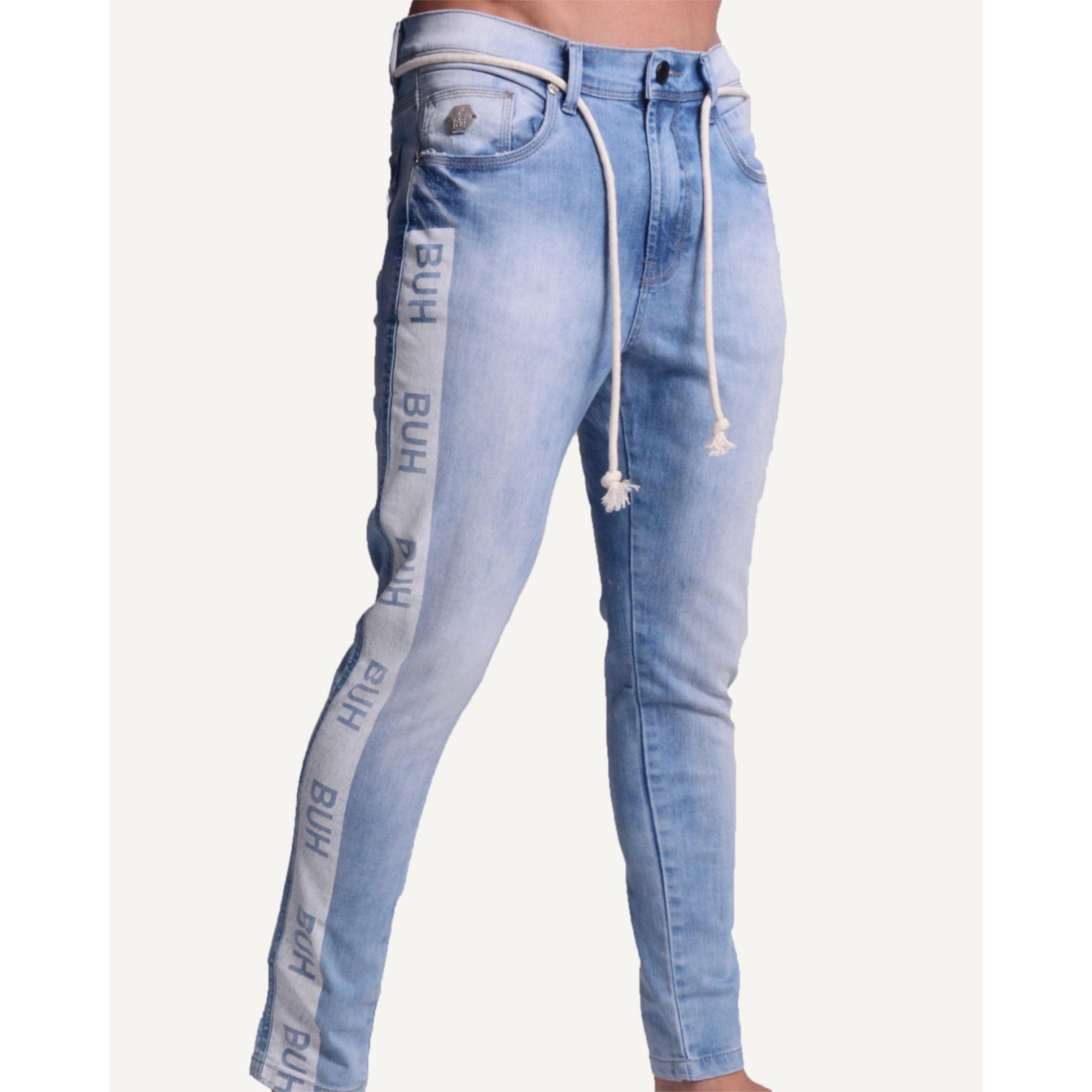 Calça Buh Jeans Faixa